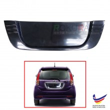 Perodua Myvi Lagi Best Icon (2nd Gen) 2011-2017 Custom Fit Rear Bonnet OEM ABS Acrylic Plastic Decorative Number Plate Holder Black