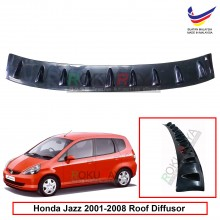 Honda Jazz (1st Gen) 2001-2008 Vortex Generator Shark Fin Aerodynamic Rear Top Roof Diffuser Diffusor