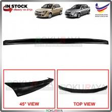 [BLACK] Proton Saga BLM FL FLX SV PLUS Ducktail ABS OEM Rear Bonnet Lip Spoiler Car Accessories Parts