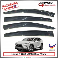 Lexus NX200 NX300 2014 AG Door Visor Air Press Wind Deflector (Big 12cm Width)
