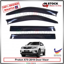 Proton X70 SUV 2018 AG Door Visor Air Press Wind Deflector (Big 12cm Width)