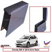 Honda BRV BR-V 2015 4' Plywood PVC Armrest Center Console Box (Black)