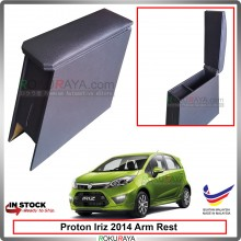 Proton Iriz 2014 4' Plywood PVC Armrest Center Console Box (Black)