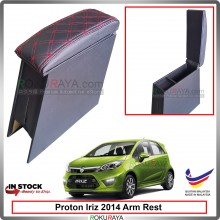 Proton Iriz 2014 4' Plywood PVC Armrest Center Console Box (Sponge+Diamond)