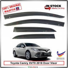 Toyota Camry XV70 2018 AG Door Visor Air Press Wind Deflector (Medium 8cm Width)