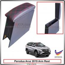 Perodua Aruz 2019 4' Plywood PVC Armrest Center Console Box (Sponge+Diamond)
