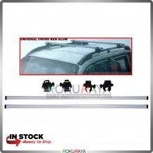 Universal Aluminium Cross Bar Roof Rack Carrier (For Car With Side Rail Bar) (Bar 120cm)