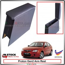 Proton Gen2 4' Plywood PVC Armrest Center Console Box (Black)