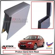 Proton Gen2 4' Plywood PVC Armrest Center Console Box (Grey)