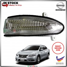 Nissan Sylphy B17 (3rd Gen) 2012 OEM Genuine Parts Side Mirror Turn Signal LED Light Blinker (RIGHT)