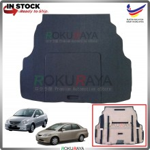 Honda City (4th Gen) 2002-2008 Custom Fit 15mm Rear Bonnet Spare Tyre Tire Tayar Cover Back Hard Board Papan (Carpet Wrapped)