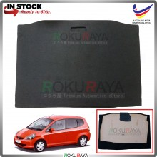 Honda Jazz (1st Gen) 2001-2008 Custom Fit 15mm Rear Bonnet Spare Tyre Tire Tayar Cover Back Hard Board Papan (Carpet Wrapped)
