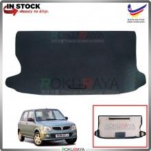 Perodua Kelisa Custom Fit 15mm Rear Bonnet Spare Tyre Tire Tayar Cover Back Hard Board Papan (Carpet Wrapped)
