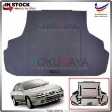 Proton Perdana (1st Gen) 1995-2010 Custom Fit 15mm Rear Bonnet Spare Tyre Tire Tayar Cover Back Hard Board Papan (Carpet Wrapped)