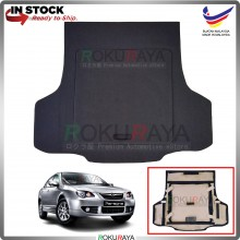 Proton Persona (1st Gen) 2008-2016 Custom Fit 15mm Rear Bonnet Spare Tyre Tire Tayar Cover Back Hard Board Papan (Carpet Wrapped)
