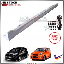 Perodua Myvi (1st Gen) 2005-2011 Bodykit OEM SE Special Edition ABS Plastic Side Skirt Clips Rubber Lining (RIGHT)