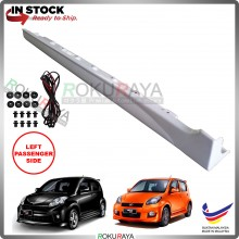 Perodua Myvi (1st Gen) 2005-2011 Bodykit OEM SE Special Edition ABS Plastic Side Skirt Clips Rubber Lining (LEFT)