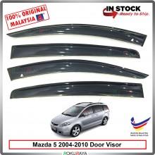 Mazda 5 (2nd Gen) 2004-2010 AG Door Visor Air Press Wind Deflector (Big 12cm Width)