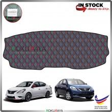 Nissan Almera N17 2011 RR Malaysia Custom Fit Dashboard Cover (RED LINE)