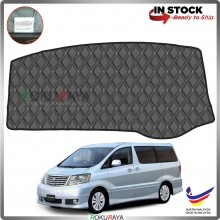 Toyota Alphard ANH10 (1st Gen) 2002-2007 RR Malaysia Custom Fit Dashboard Cover (BLACK LINE)