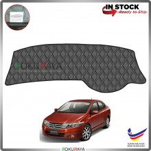 Honda City (5th Gen) 2008-2013 RR Malaysia Custom Fit Dashboard Cover (BLACK LINE)