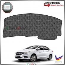 Honda City (6th Gen) 2013 RR Malaysia Custom Fit Dashboard Cover (BLACK LINE)