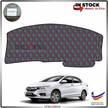 Honda City (6th Gen) 2013 RR Malaysia Custom Fit Dashboard Cover (RED LINE)