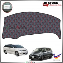 Toyota Previa Estima XR50 (3rd Gen) 2006 RR Malaysia Custom Fit Dashboard Cover (RED LINE)