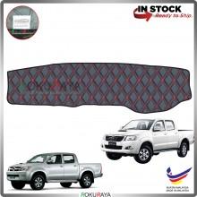 Toyota Hilux Vigo (7th Gen) 2004-2015 RR Malaysia Custom Fit Dashboard Cover (RED LINE)