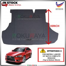 Mitsubishi Lancer Proton Inspira CBU (1st Gen) (35 Inch) Custom Fit 15mm Rear Bonnet Spare Tyre Tire Tayar Cover Back Hard Board Papan (Carpet Wrapped)