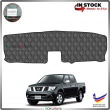 Nissan Navara D40 (2nd Gen) RR Malaysia Custom Fit Dashboard Cover (BLACK LINE)