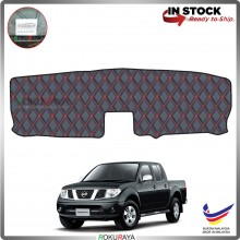 Nissan Navara D40 (2nd Gen) RR Malaysia Custom Fit Dashboard Cover (RED LINE)