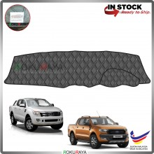 Ford Ranger T6 T7 RR Malaysia Custom Fit Dashboard Cover (BLACK LINE)