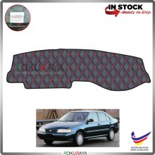 Sentra B14 RR Malaysia Custom Fit Dashboard Cover (RED LINE)
