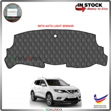 Nissan X-Trail Xtrail (3rd Gen) 2013 RR Malaysia Custom Fit Dashboard Cover (BLACK LINE)