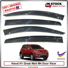 Haval H1 Great Wall M4 AG Door Visor Air Press Wind Deflector (Big 12cm Width)