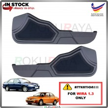 Proton Wira (1.3 ONLY) Side Door Panel Speaker Board Cover Pocket Holder PVC Wrapped (GREY)