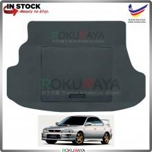 Subaru Impreza Sedan (1st Gen) 1992-2001 Custom Fit 15mm Rear Bonnet Spare Tyre Tire Tayar Cover Back Hard Board Papan (Carpet Wrapped)