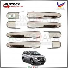 Perodua Aruz 2019 (8in1) Door Outer Handle Trim Cover ABS Plastic (Chrome)