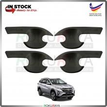 Perodua Aruz 2019 (4in1 Bowl) Door Inner Handle Trim Cover ABS Plastic (Matt Black)
