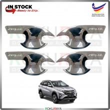 Perodua Aruz 2019 (4in1 Bowl) Door Inner Handle Trim Cover ABS Plastic (Chrome)