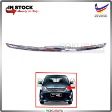 Perodua Viva (Elite Model ONLY) Front Bonnet Hood Grill Top Moulding Garnish (Chrome)