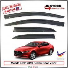 Mazda 3 BP Sedan 2019 AG Door Visor Air Press Wind Deflector (Medium 8cm Width)