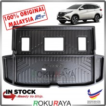 Toyota Rush 2018 Custom Fit Original PE Non Slip Rear Trunk Boot Cargo Tray