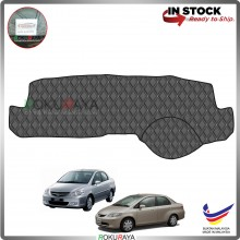 Honda City (4th Gen) 2002-2008 RR Malaysia Custom Fit Dashboard Cover (BLACK LINE)