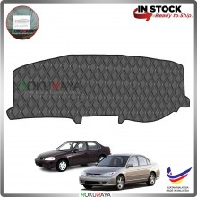 Honda Civic ES (7th Gen) 2000-2005 RR Malaysia Custom Fit Dashboard Cover (BLACK LINE)