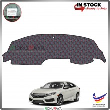 Honda Civic FC (10th Gen) 2016 RR Malaysia Custom Fit Dashboard Cover (RED LINE)