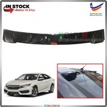 Honda Civic 2016 Vortex Generator Shark Fin Aerodynamic Rear Windscreen Glass Visor Diffuser Diffusor