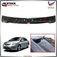 Toyota Vios (2nd Gen) 2008-2013 Vortex Generator Shark Fin Aerodynamic Rear Windscreen Glass Visor Diffuser Diffusor