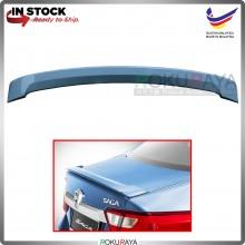[TOPAZ BLUE] Proton Saga VVT (3rd Gen) 2016 ABS Plastic OEM Rear Bonnet Trunk Boot Lip Spoiler